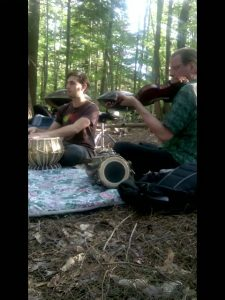 Photo of Derrik and Jed for Manitou concert PR